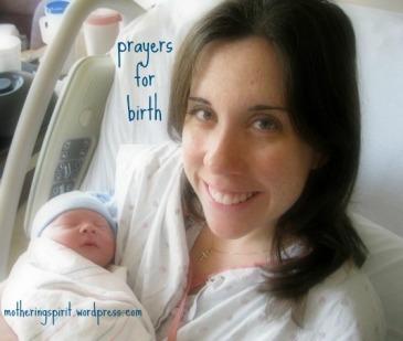 prayers for birth